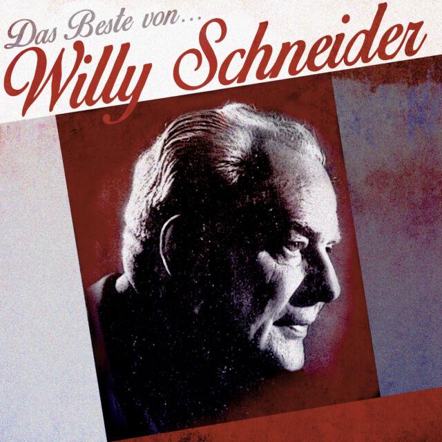 CD Willy Schneider Das Beste von