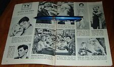 1955 TV ARTICLE~ROY ROGERS & SON DUSTY~KATHRYN GRANT~CHRISTMAS TELEVISION