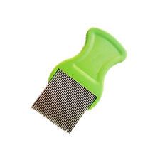 New Anoplura Flea Comb Cootie Stainless Steel Lice Comb for Children Flea Comb E