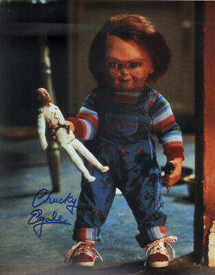 "Entertainment Memorabilia Autographs-original Open-Minded ~~ Ed Gale Authentic Hand-signed ""child's Play"" 11x14 Photo C~~ Good Heat Preservation"