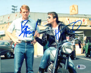 RON-HOWARD-amp-HENRY-WINKLER-SIGNED-AUTOGRAPHED-8x10-PHOTO-HAPPY-DAYS-BECKETT-BAS