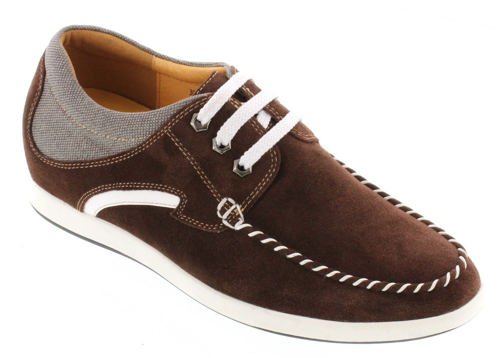 TOTO D305291 - 2.4 Inches Elevator Height Increase Dark Brown Casual shoes