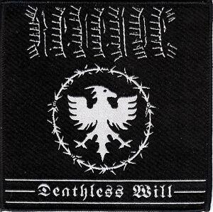 Revenge-Deathless-Patch-Conqueror-Blasphemy-Slayer-Black-Death-Metal-Razor
