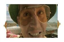 3b0c69954d Las Vegas Fear and Loathing Orange Lens Sunglasses Glasses Hunter S.  Thompson