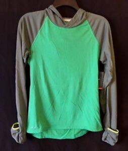 NIKE-Women-039-s-Hoodie-Green-Size-Small-Medium-Running-Top-Dri-Fit-NWT
