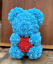 thumbnail 7 - 25cm 10inch Flower Rose Bear Gift Box option Mother's Day Valentine Anniversary