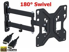 Corner TV wall mount Full Motion tilt swivel 24 32 40 Inch  LED LCD Flat Screen