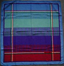 foulard  en laine CHRISTIAN DIOR 86 cm x 79 cm  vintage