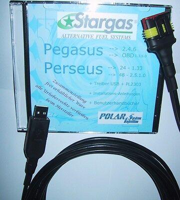 Adattabile Xxl 4,8m Stargas Gpl Diagnosi Usb Interface, Software Polaris Elios + Perseus-
