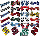 Official Football Club Team Scarves Souvenir Crest Winter Warm Knit Scarf Gift