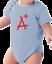 Infant-creeper-bodysuit-romper-t-shirt-A-A-Plus thumbnail 6