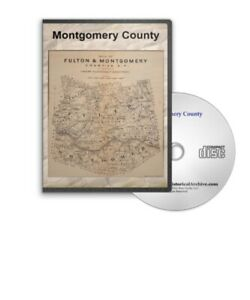 Montgomery-County-New-York-10-Historic-Books-on-CD