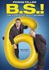 Penn & Teller BS Complete Sixth Season 2pc 097368941441 Bulls DVD Region 1
