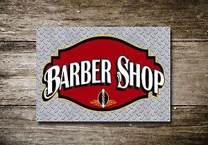 Barber-Shop-Letrero-metal-Decor-Decoracion-De-Pared-Placas-467