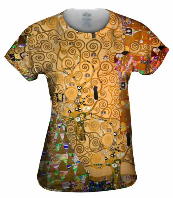 "Yizzam - Klimt - ""The Tree Of Life""- New Womens Top Women Tshirt Tee"