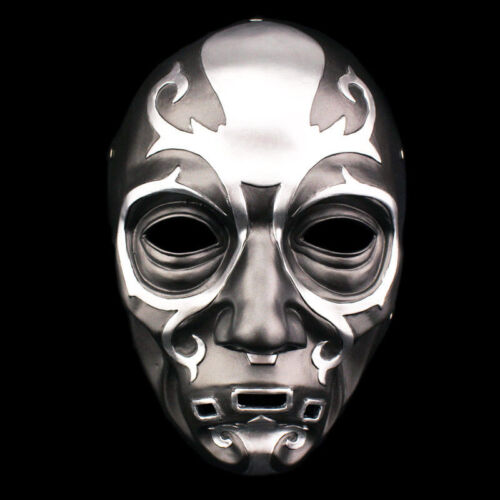 Masquerade Harry Potter Death Eater Mask Lucius Malfoy Resin Cosplay Prop Masks