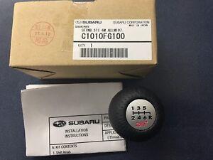 SUBARU Genuine C1010FG000 STI Shift Knob