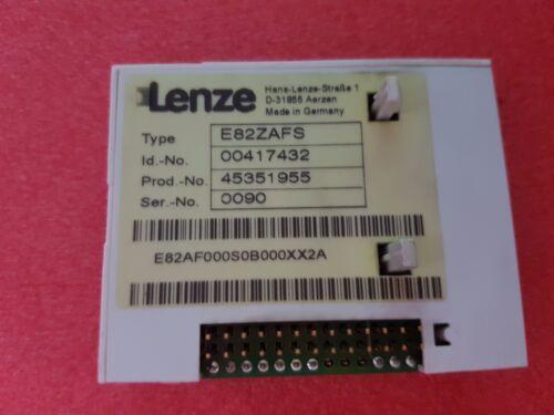 Lenze función módulo estándar Type e 82 zafs