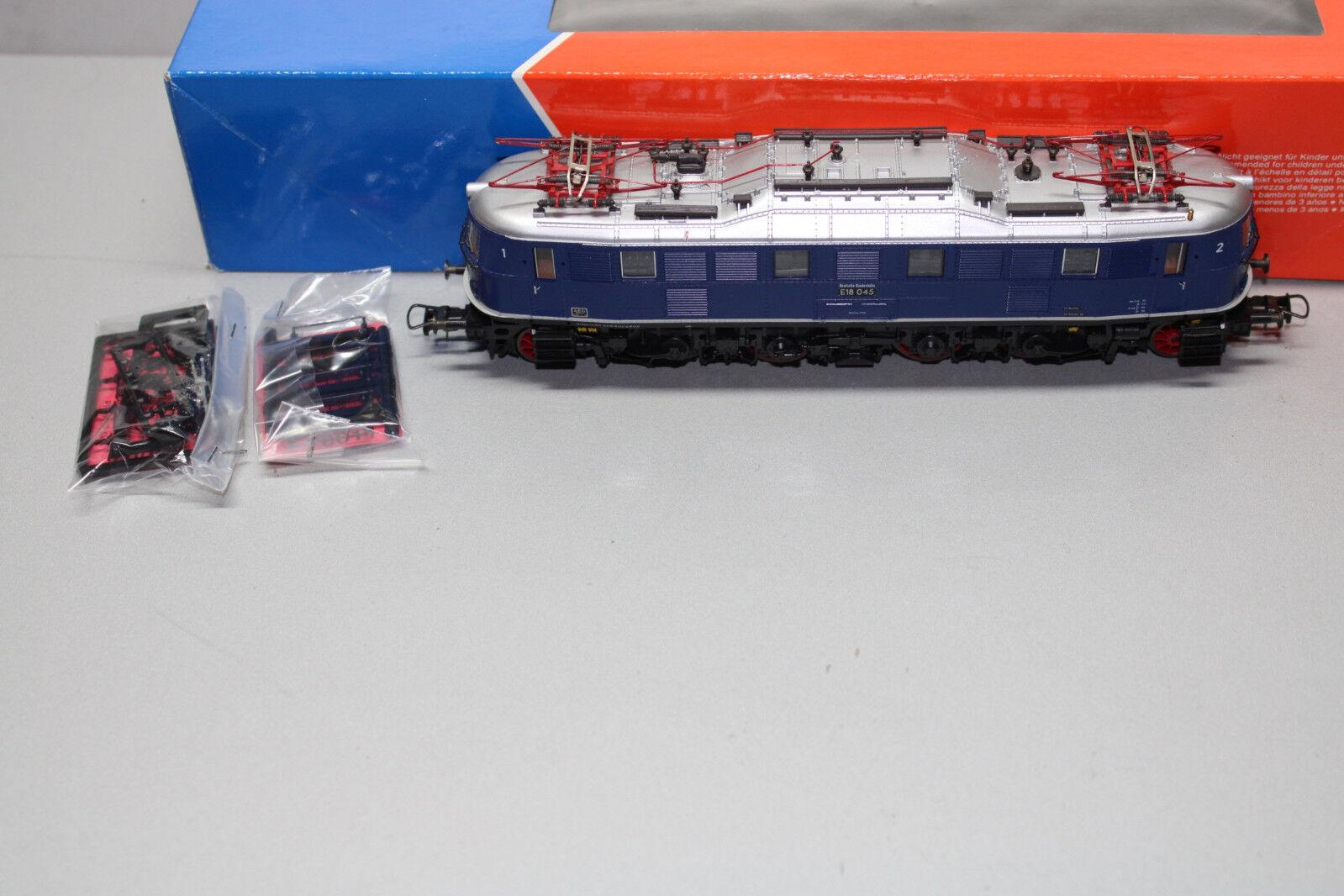 Roco 43659 Elok Baureihe E18 045 DB blå Spur H0 OVP
