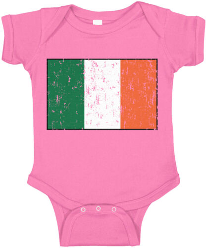 Details about  /Ireland Country Pride Game Day Soccer The Green Army Football  Infant Bodysuit