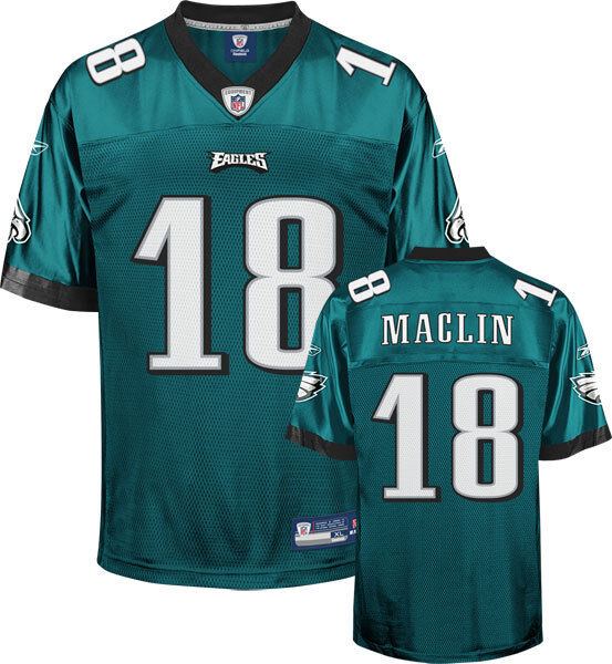 NFL Football Premier Trikot Jersey PHILADELPHIA EAGLES Jeremy Maclin 18 grün