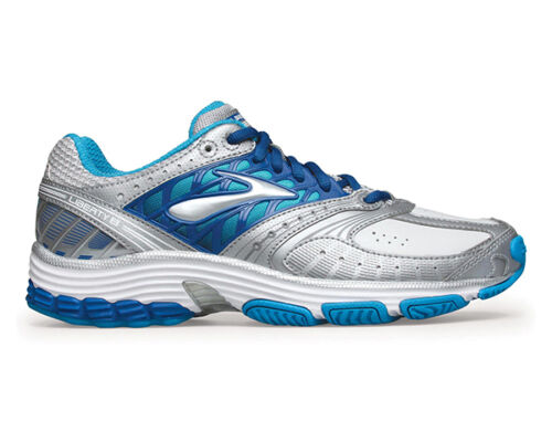 Brooks Liberty 8 Womens Crosstraining Shoes (Leather) (B) (021) (021) GRAY/BLUE