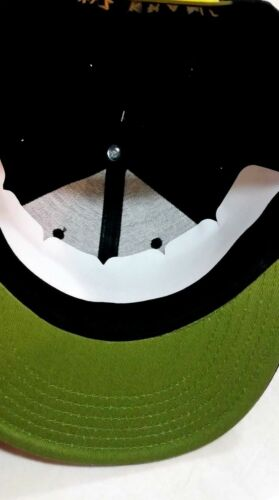 Nouveau Wiz Khalifa homme casquette de baseball Snap Back Hip Hop Noir//Jaune