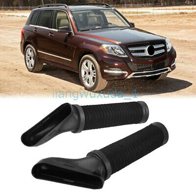 2pcs Engine Air Cleaner Intake Duct Hose Assembly For Mercedes-Benz 2010-2012 GLK350 2720902982 2720902882