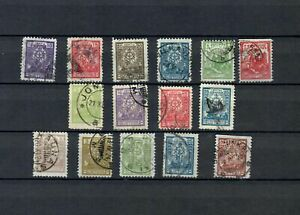 LITHUANIA EUROPE RUSSIA EMPIRE COLLECTION CLASSIC USED  STAMP LOT ( LUT 106)