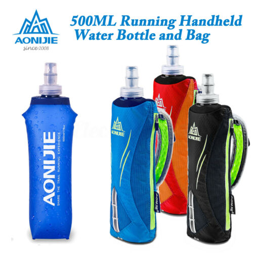 AONIJIE TPU Soft Flask Sports Running Cycling Water Hydration Bottle Waist Bag