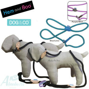 Hem-amp-Boo-Mountain-Rope-Slip-Collar-lead-in-one-Figure-8-Halter-Option-2-Colours