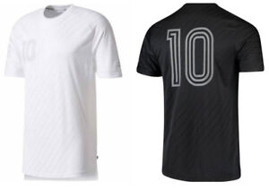5c2ec18139 Details about Adidas Embossed Tango Icon Player Jersey Shirt #10 Messi Drop  Tail Soccer