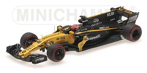Minichamps - RENAULT SPORT F1 TEAM RS17 KUBICA TEST HUNGARORING 2017  1 43
