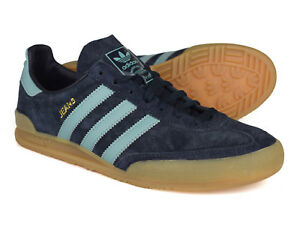 quality design 5d125 0bb3b Image is loading Adidas-Originals-Jeans-Night-Navy-Suede-Trainers-S79997