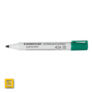 STAEDTLER Blue Lumocolor Compact Whiteboard Board Markers Pens Drywipe 341 Pack Of 3 Drywipe 341