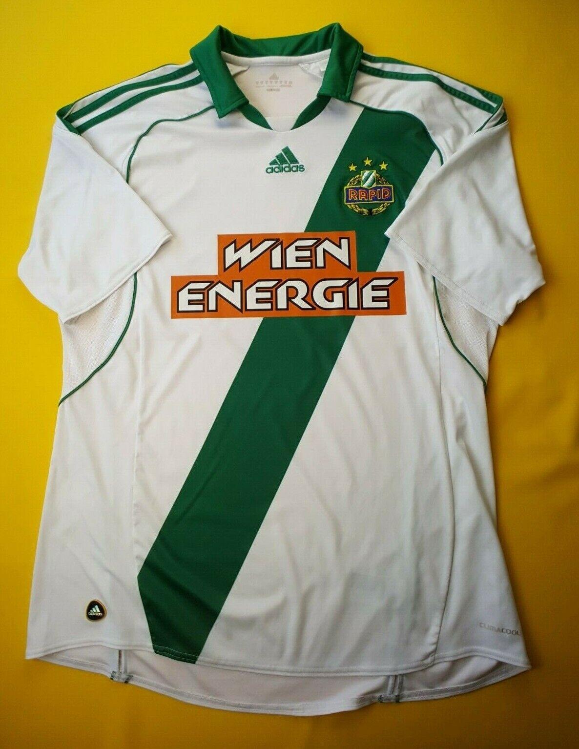 0b2e2db0044 5 5 SK Rapid Wien jersey XL 2010 2011 home shirt U40780 soccer Adidas ig93