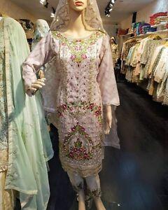 Indian-Pakistani-Shalwar-Kameez-Salwar-Suit-Wedding-Designer-Agha-Noor-Nude-Pink