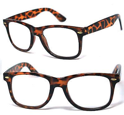 Men Women Square Frame Clear Lens Reading Glasses Various Strength & Colors RG09