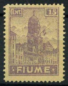 Fiume-1919-Sass-A36-zwe-Nuovo-100-Allegorie-e-vedute