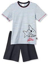 Schiesser kurzer Schlafanzug für Jungen Cäptn Sharky Gr. 104 neu