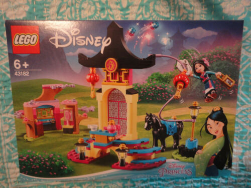 Lego 43182 DISNEY PRINCESSE Princess MULAN Entrainement PLACE JEU NEUF NEW NIB