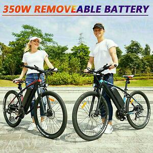 """500W 26"""" Electric Bike Mountain Bicycle City Commuter Ebike Shimano 10.5Ah Bikes"""