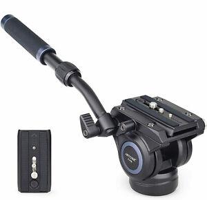 Panoramic-Tripod-Head-Hydraulic-Fluid-Video-Head-For-Tripod-monopod-DSLR-Camera
