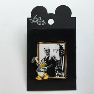 Disneyland-100th-Birthday-Picture-Frame-Series-Donald-amp-Walt-Disney-Pin-8491