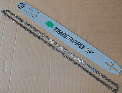 """TIMBERPRO 24"""" Bar and Chain Set for CS-6150 62cc Petrol Chainsaw. 24 Inch Set"""