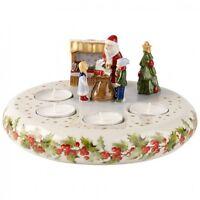 Villeroy & Boch CHRISTMAS TOYS MEMORY Santa Advent Crown #9415