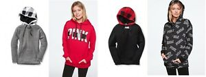 m Pullover Pink Hood New Victoria's Sherpa Secret l Campus foderato Sfw580q