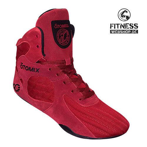 Otomix STINgrau ESCAPE ESCAPE STINgrau Rot ROT Fitness Bodybuilding MMA Box Kampf Schuhe Turnschuhe 38a435