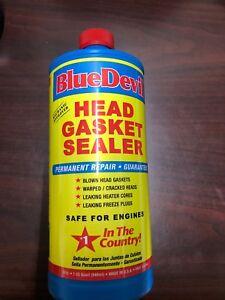 Blue Devil 38386 Permanent Repair Head Gasket Sealer 32 Oz Ebay