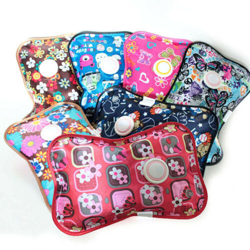 Hot Water Bottle Natural Winter Hand Warmer Rechargeable Electric Heater Bag UK
